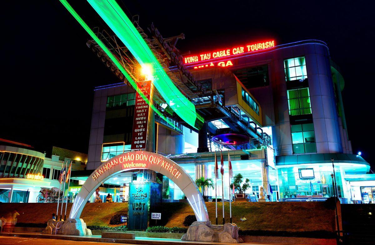 Nhà ga số 1 về đêm
