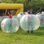 Bumper Ball Game at Ho May Park - Vung Tau